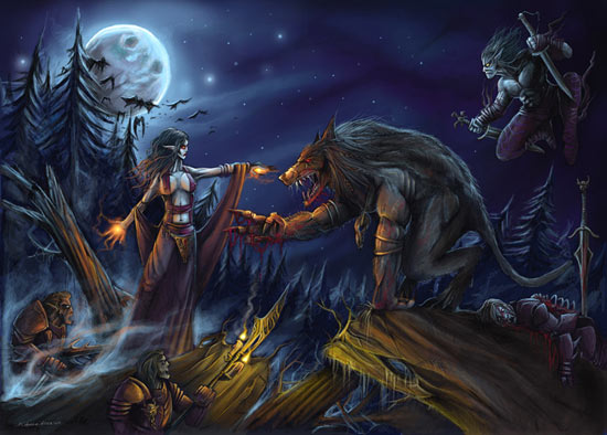 Imvu Group Vampires Vs Werewolves